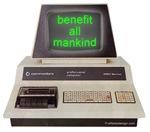 Benefit All Mankind! Computer!