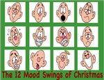 12 mood swings of Christmas