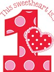 New SSweetheart 1st Birthday Valentine's First Bir