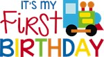 Train First Birthday