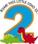 Dinosaur 2nd Birthday