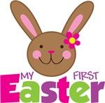 Girl Easter Bunny 1st Easter