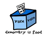 Occupy Wall Street Democracy is good vote