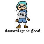 Occupy Wall Street Democracy is good guy