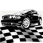 2011 Mustang Flag