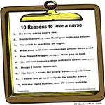 10 Reasons to Love a Nurse