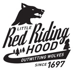 B&W Little Red Riding Hood Since 1697