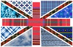 Tartan and other patterns union jack