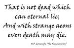Even Death May Die