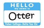 Hello My Name Is Otter