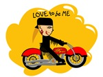 MOTORCYCLE GIRL - LOVE TO BE ME
