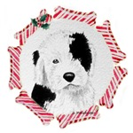 Old English Sheepdog Christmas