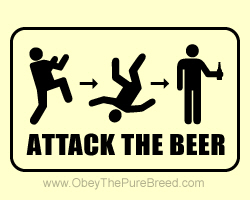 ATTACK THE BEER