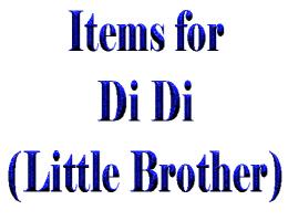 Items for Di Di