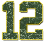 12 Aaron Rodgers Packers
