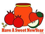 Sweet Jewish New Year Rosh Hashanah Cards