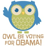 Owl Be Voting for Obama