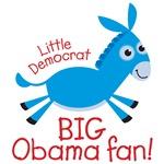 Little Democrat - Big Obama Fan