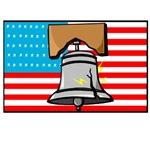 1714 Flag & Liberty Bell