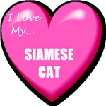 I Love My Siamese Cat