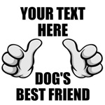 Personalized Dog's Best Friend T-Shirts