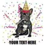 Personalized French Bulldog Birthday