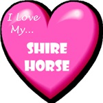 I Love My Shire Horse