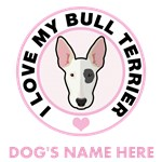 Personalized Bull Terrier T-Shirts