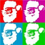 Pop Art Santa