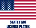 State Flag License Plates