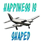 Happiness is flying a Twin