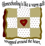 Homeschooling is Like a Warm Quilt