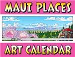Maui Places Art Calendar