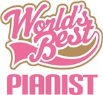World's Best Pianist Music Gifts