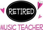 Retired Music Teacher Gifts and Tshirts