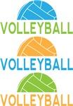 Volleyball Sports Logo T-shirts