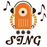 Choir Singer Music Robot Tees
