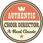 Choir Director Gifts (vintage label)