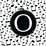 Music Monogram Letter O Gifts