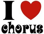 I Love Red Heart Chorus