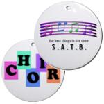 Choir and Chorus Christmas Ornaments