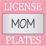 MOM LICENSE FRAMES | MOM VANITY PLATES