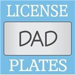 DAD LICENSE PLATE FRAMES