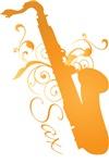 Saxophone Glo Music T-shirts