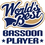 Worlds Best Bassoon Player T-shirts and Gifts