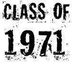 Grunge Class Of 1971 Reunion T-shirts