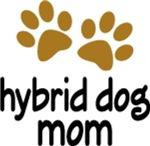 DOG MOM Paw Print T-SHIRTS