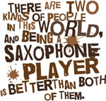 Funny Saxophone Player T-shirts and Gifts
