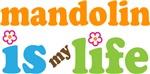 Mandolin Is My Life T-shirt Gifts