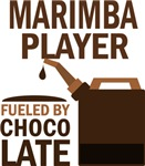 Marimba Player Fueled By Chocolate Gifts